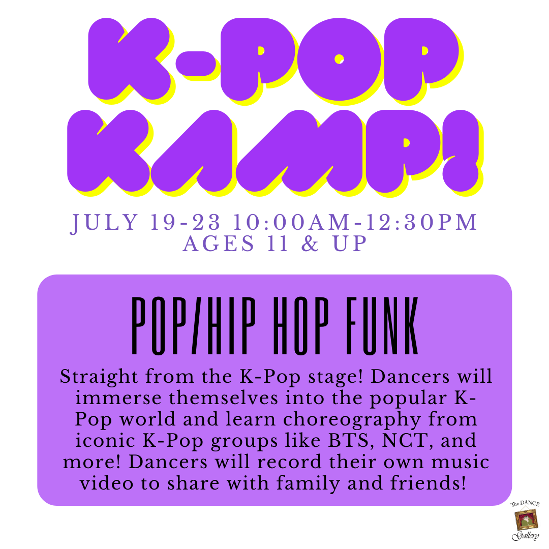 The Dance Galery Summer Camps 2021 K-Pop Kamp