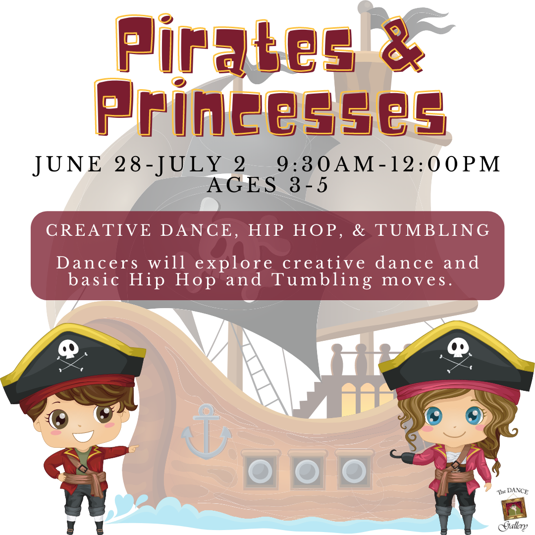 The Dance Galery Summer Camps 2021 Pirates and Princesses