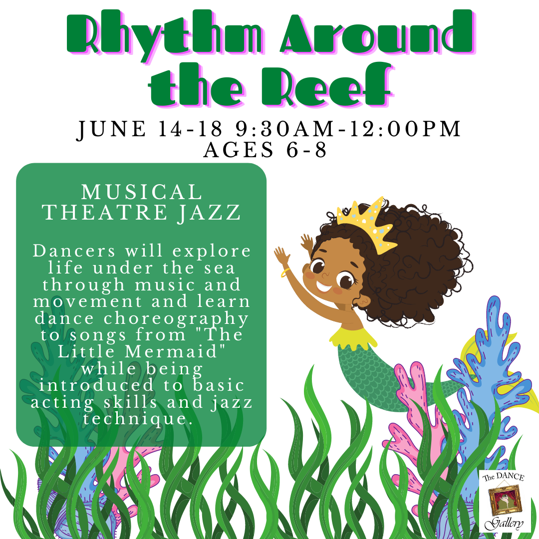 The Dance Galery Summer Camps 2021 Rhythm Around the Reef